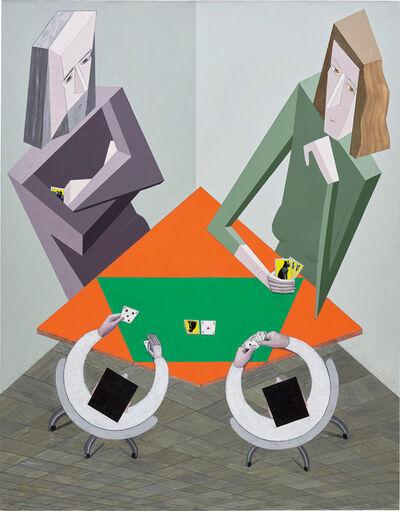 Mernet Larsen, 'Cardplayers', 2013