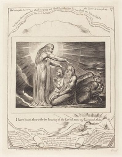 William Blake, 'The Vision of God', 1825