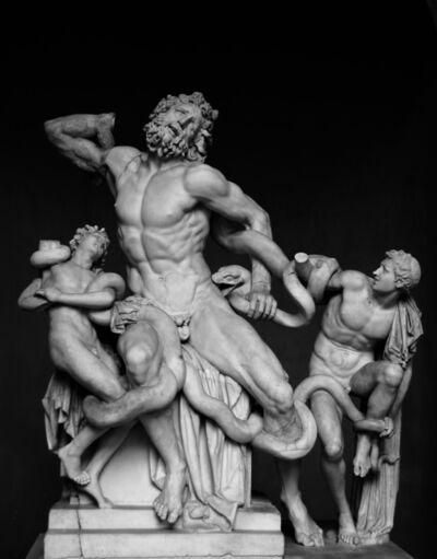Hagesandros, Polydoros, and Athanadoros of Rhodes, 'Laocoön and His Sons, as restored today (probably the original or a Roman copy)', 1st century A.D.