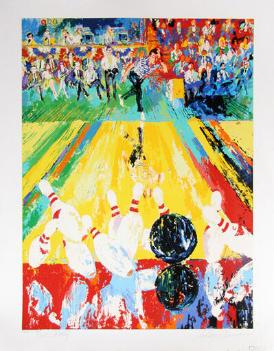 LeRoy Neiman, 'Million Dollar Strike', 1982