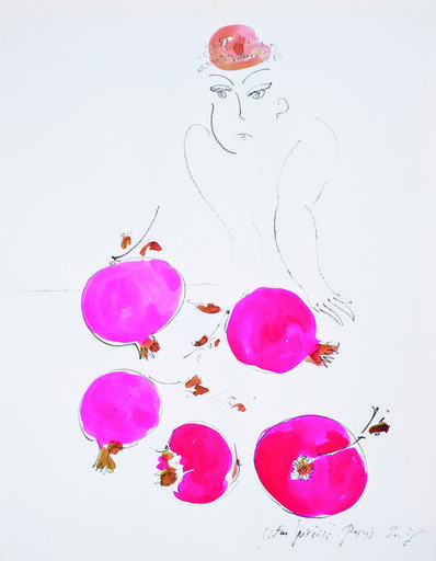 SRĐAN VUKČEVIĆ, 'Woman Selling Pomegranates', 2008