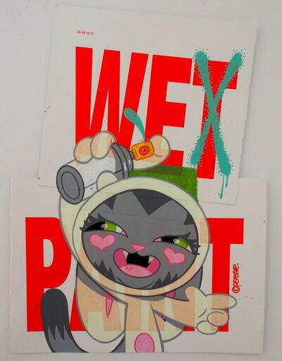 Persue, 'Wet Paint', 2018