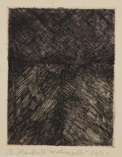 Brice Marden, 'Watsonville', 1963