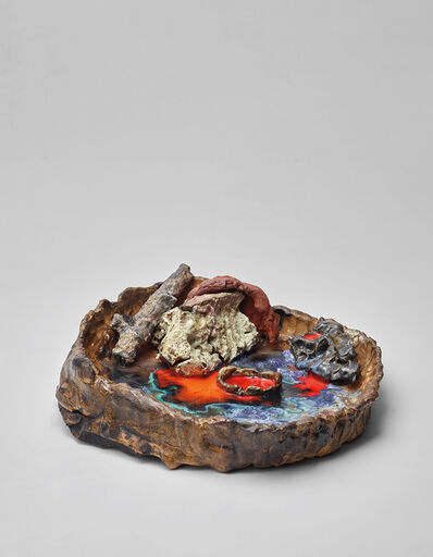 Sterling Ruby, 'The Fed Mortar (Rainbow)', 2009