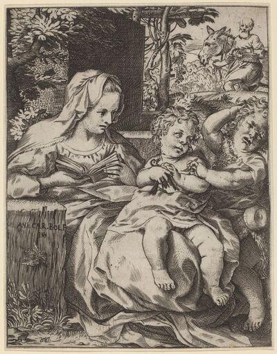 Annibale Carracci, 'The Madonna of the Swallow (La Madonna Della Rondinella)', 1587