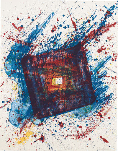 Sam Francis, 'Falling Star, from Eight Lithographs to Benefit the Foundation for Contemporary Performance Arts, Inc. (SF-336) (G. 953, L. L249)', 1981