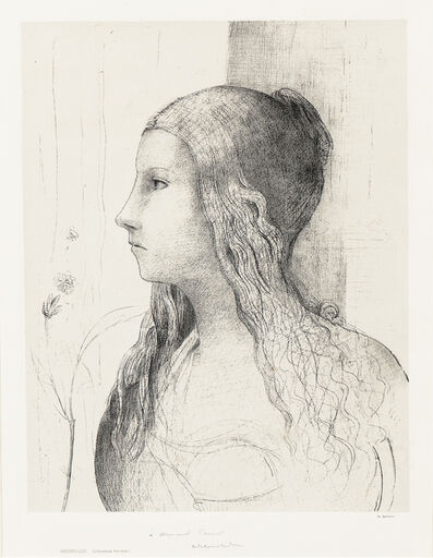 Odilon Redon, 'Brunnhilde'