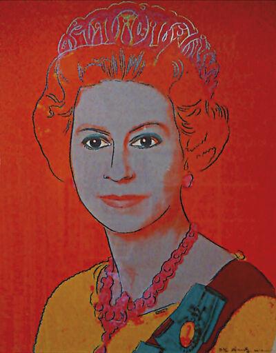 Andy Warhol, 'Queen Elizabeth II, Reigning Queens (Royal Edition) ', 1985