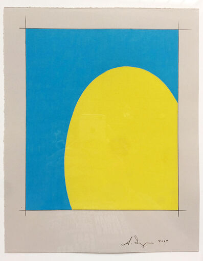 Scott Ingram, 'Saarinen Table (yellow/blue)', 2010