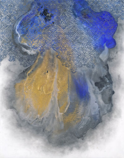 Hedieh Javanshir Ilchi, 'Ashen lands and blue skies 5', 2019