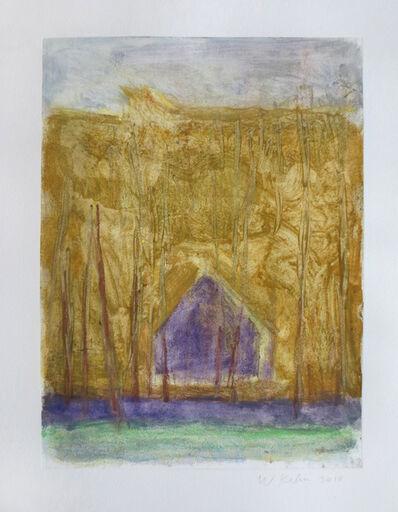 Wolf Kahn, 'Barn in the Woods', 2010