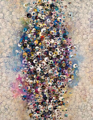 Takashi Murakami, 'Who's Afraid Of Red, Yellow, Blue And Death', 2010