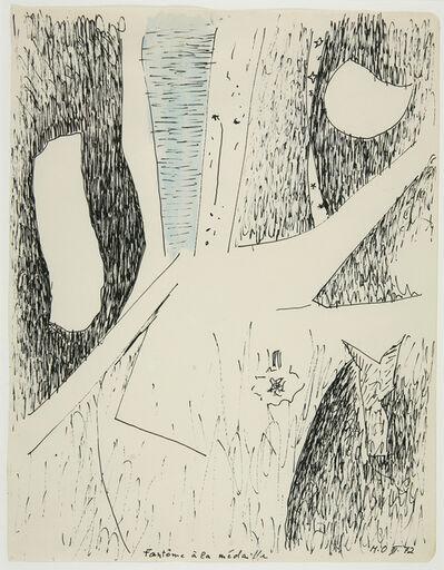 Meret Oppenheim, 'Gespenst mit Medaillle', 1972