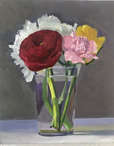 Dan McCleary, 'Flowers with Red Ranunculus', 2020