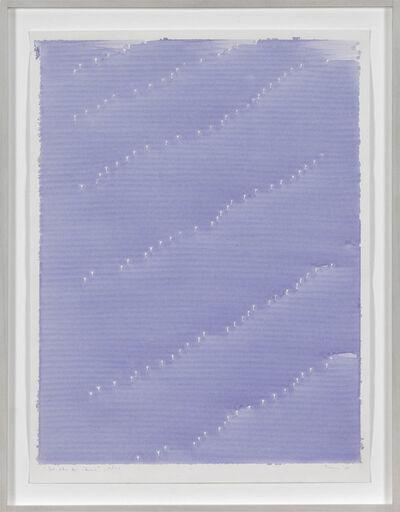 Irma Blank, 'Radical Writings, Dal libro del silenzio AX-1', 1983