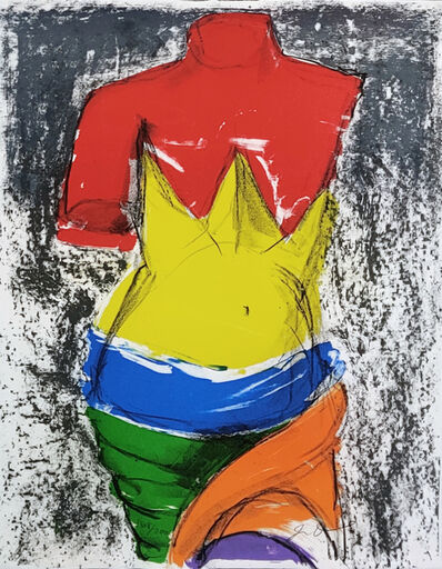Jim Dine, 'THE BATHER', 2005