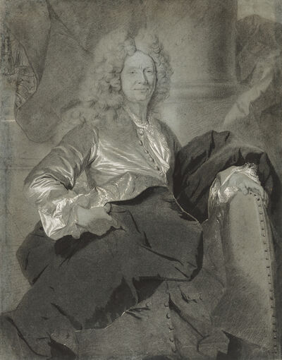 Hyacinthe Rigaud, 'Portrait of a Man', 1710-1720