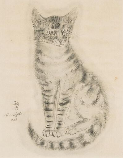 Léonard Tsugouharu Foujita, 'Cat', 1929