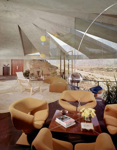 Leland Y. Lee, 'Elrod House - Mitered Glass', 1968
