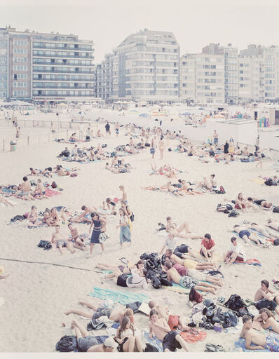 Massimo Vitali, 'Untitled from Knokke Beach polyptych', 2002
