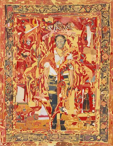 Fatma Shanan, 'Self Portrait and a Carpet', 2020