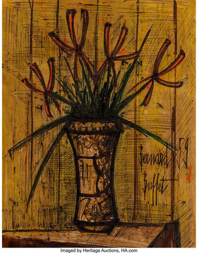Bernard Buffet, 'Fleurs', 1959