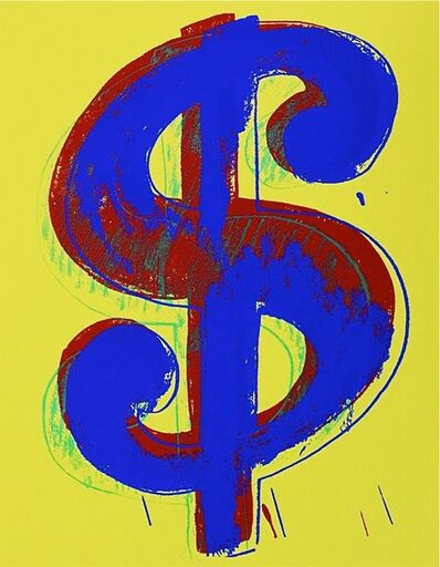 Andy Warhol, 'Dollar Sign, Yellow (Sunday B. Morning)', 2013