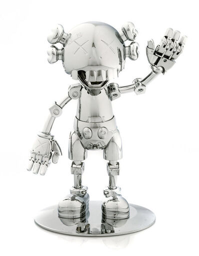 KAWS, 'No Future Companion (Silver Chrome)', 2008