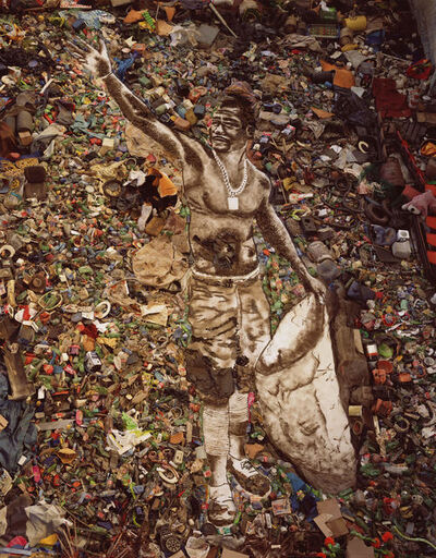 Vik Muniz, 'The Sower (Zumbi) from Pictures of Garbage', 2008