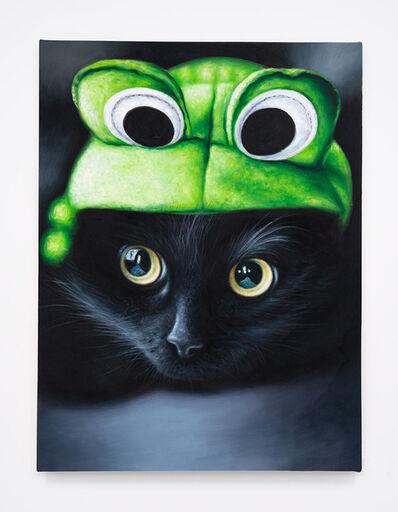 Daniel Handal, 'Frog Kitty (Black/Ebony)', 2015