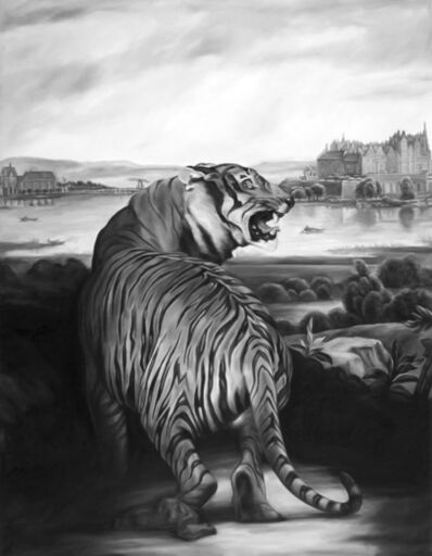 Shelley Reed, 'Tiger (after Landseer and Thiele)', 2007