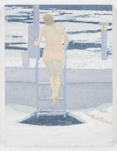 Michael Meehan, 'Ice Bather; Gray Day', 2015