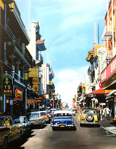 Alain Bertrand, 'San Francisco chinatown', 2017