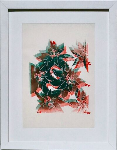 Andy Warhol, 'Poinsettias', 1985