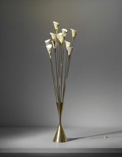 Angelo Lelii, 'Calla standard lamp', circa 1950