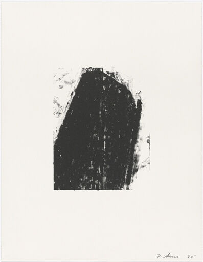 Richard Serra, 'Out the Window at the Square Diner', 1981