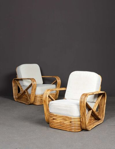 Paul T. Frankl, 'Pair of armchairs', 1953