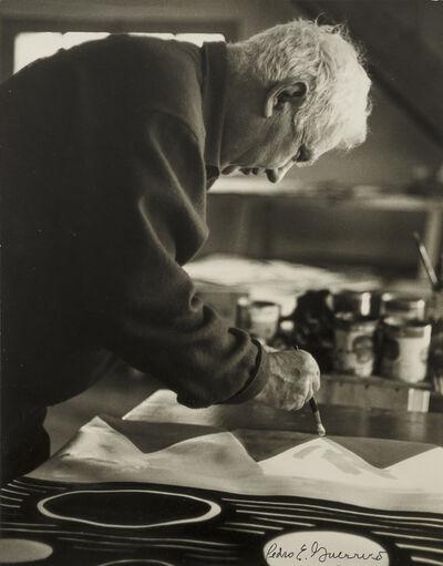 Pedro E. Guerrero, 'Calder Painting, Saché, France', 1964