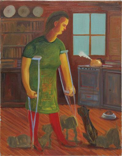 Nicole Eisenman, 'Untitled (Crutch Woman)', 2013