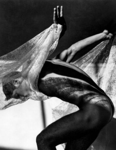 Greg Gorman, 'Tony Ward with lace #4, Los Angeles', 1990