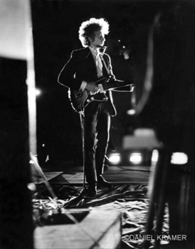 Daniel Kramer, 'Bob Dylan Backlit on Stage, Forest Hills Stadium, New York', 1965