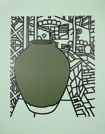 Patrick Caulfield, 'Patrick Caulfield, Jar (Green), screenprint, 1974', 1974