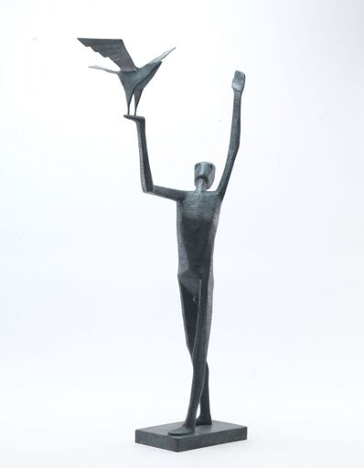 Terence Coventry, 'Man Releasing Bird', 2016