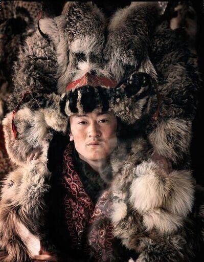 Jimmy Nelson, 'VI 35 - Khan La Khan - Ulaankhus, Bayan Oglii - Mongolia,', 2011
