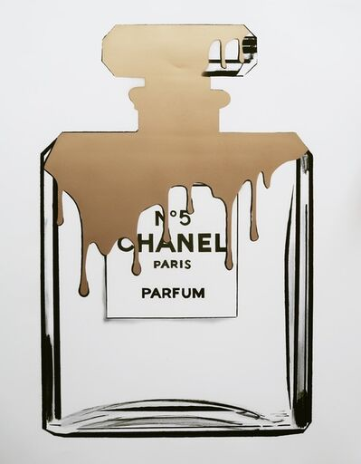 Louis-Nicolas Darbon, 'Gold melting Chanel', 2017