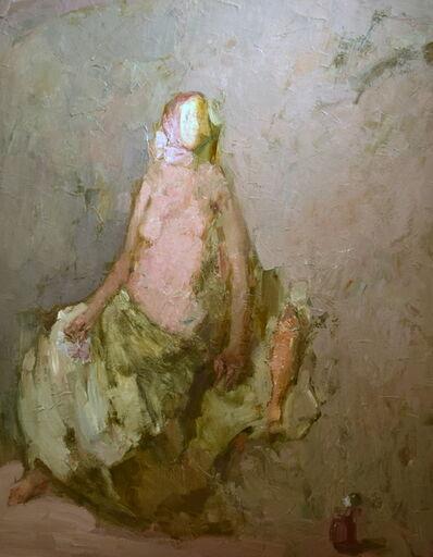 Olga Geoghegan, 'Lady Seated with Herring', 2015