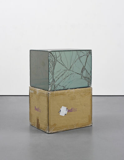 Walead Beshty, 'FedEx Large Kraft Box 2004 FEDEX 155143, #875468976073', 2011