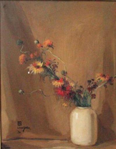 Leon Dabo, 'Étude des Forms (Flowers in a Vase)', 1930
