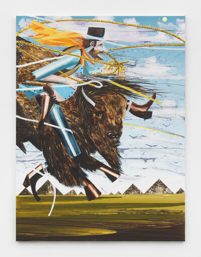 Barnaby Furnas, 'The Bison Herder', 2018