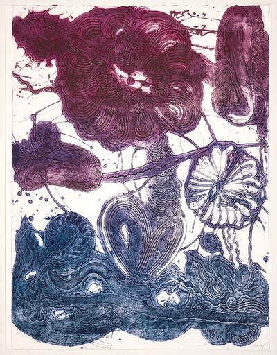 Catherine Howe, 'Garden (daisy, magenta, blue)', 2019